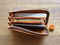 Pocket multi-case (GS-32) | Organ (organ)Pocket multi-case | Leather Minerva Liscio W10.5cm × H7cm × D2cm / 7,560 yen