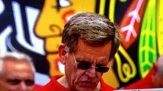ROCKY WIRTZ OWNER CHICAGO BLACKHAWKS 2015 STANLEY CUP RALLY IT WAS RAINI...