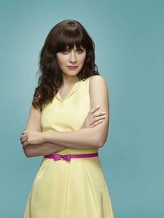 "New Girl S4 Zooey Deschanel as ""Jess Day"""
