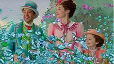 Lin-Manuel Miranda and Emily Blunt in Mary Poppins Returns Mary Poppins 2018, Songs From Mary Poppins, Emily Blunt Mary Poppins, Mary Poppins Book, Veronica, Rob Marshall, Jane And Michael, Tousled Bob, Shakespeare In Love