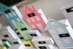 Paper Town Advent Calendar | Titatoni