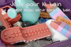 Un mois pour désencombrer – semaine 1 : la salle de bain - Jour 3 les jouets pour le bain