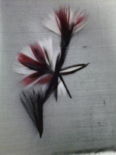 Motif de fleurs réaliser avec de la plume Leaf Tattoos, Louis Vuitton, Feathers, Hands, Louise Vuitton, Louis Vuitton Monogram