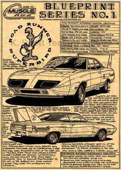 """The very popular Camrao A favorite for car collectors. The Muscle Car History Back in the and the American car manufacturers diversified their automobile lines with high performance vehicles which came to be known as """"Muscle Cars. Vintage Trucks, Vintage Ads, Classic Chevy Trucks, Classic Cars, Chevrolet Camaro, Plymouth Superbird, Dodge Charger Daytona, Dodge Muscle Cars, Automobile"""