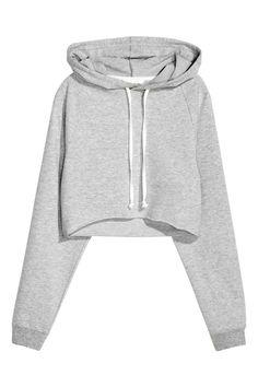 Sudadera corta con capucha | H&M