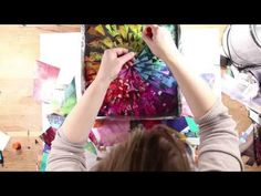 Resin Art Tutorial: Protecting your collage before you add resin - YouTube