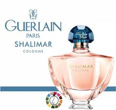 "Shalimar Cologne -Top notes of bergamot, lemon and grapefruit open up the fragrance with a ""Calabrian cocktail of citruses"" seguing into a floral and fresh heart of freesia and petaly jasmine and rose. The base rests on white musks, vanilla and iris."