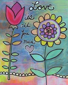 Keep love in your heart. A life without it is like a sunless garden when the flowers are dead. The consciousness of loving and being loved brings a warmth and a richness to life that nothing else can bring. ~ Oscar Wilde  ~ Art by Beth Nadler