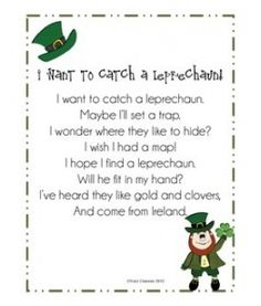 I Want to Catch a Leprechaun! poem by Dragonflies in First