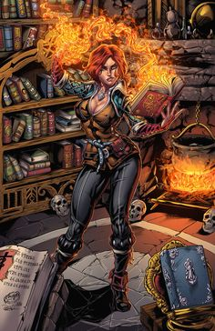 Final colors for my latest Triss Merigold commission, done by the ever wonderful . The Witcher Game, The Witcher Books, The Witcher Geralt, Witcher Art, Disney Marvel, Triss Merigold, Digital Art Anime, Medieval Books, Fantasy Girl