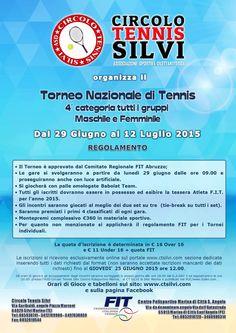 Concluso il Torneo di Tennis di 4° categoria del C.T. Silvi