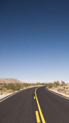 Joshua Tree Desert Road iPhone 5s Wallpaper Download | iPhone Wallpapers, iPad wallpapers One-stop Download