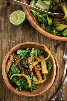 A Stir-Fry Salad