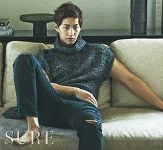 Song jae lim @ sure magazine oct issue