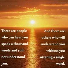 Understanding.