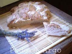 Lavender bread with sourdough - Pane alla #lavanda con #pastamadre