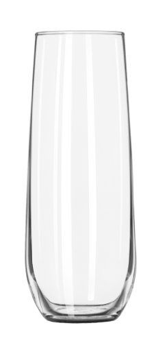 Libbey 8.5 oz. Stemless Flute Glasses in Clear, Set of 12 by Riekes Distributors, http://www.amazon.com/dp/B003XVKNVO/ref=cm_sw_r_pi_dp_Yjqzqb0GJQV8W