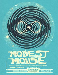 GigPosters.com - Modest Mouse - Mimicking Birds - Japanese Motors