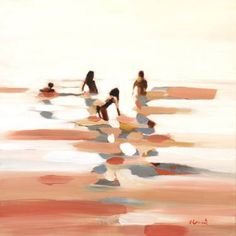 "Saatchi Art Artist Elizabeth Lennie; Painting, ""Quartet"" #art"