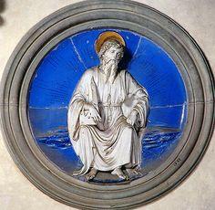 Luca della Robbia -  San Bartolomeo, 1460-1465. Firenze, Santa Croce, Cappella Pazzi