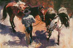 Oleg Stavrowsky artist ~ unknown title