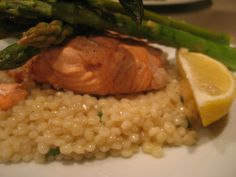 Pinned for lemon basil cous cous recipe