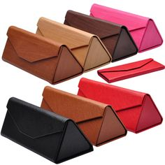 LONSY Fashion High Quality Luxury Glasses Case Triangular Fold Sunglasses Box Handmade Case For Glasses Brand Price history. Product ID: Sunglasses Box, Sunglasses Women, Luxury Glasses, Origami Bag, Leather Accessories, Pu Leather, Eyewear, Pure Products, Bags