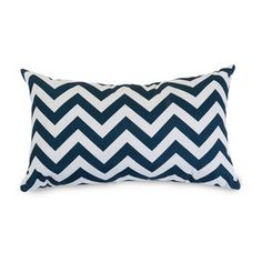 Hopscotch Pillow - Small in Navy Blue