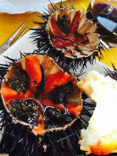 Urchins fresh from the sea !
