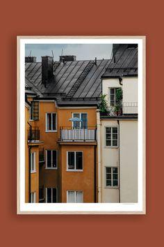 Tambur Gallery | Brännkyrkagatan 50x70cm | TAMBURSTORE.SE Stockholm, Polaroid Film, Fine Art, Gallery, Prints, Printed, Art Print, Visual Arts