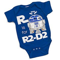 R Is For R2D2 Bodysuit