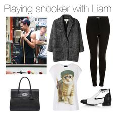 """""""Playing snooker with Liam"""" by outfits-with-one-direction ❤ liked on Polyvore featuring Topshop, Étoile Isabel Marant, Payne, Mulberry, women's clothing, women, female, woman, misses and juniors"""