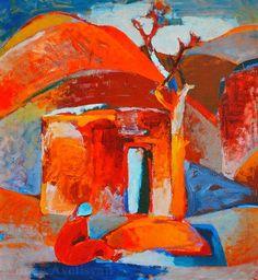 Minas Avetisyan, Golden Autumn on ArtStack #minas-avetisyan #art