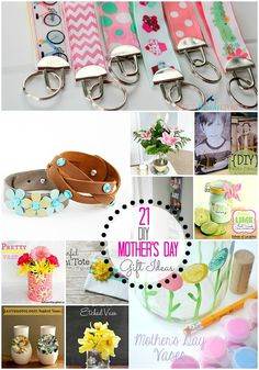 Great Ideas! I love the wrap bracelets! — 21 DIY Mother's Day Gift Ideas!! From Tatertots and Jello