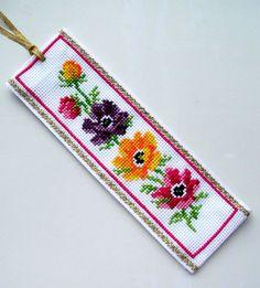 Vervaco Anemones bookmark