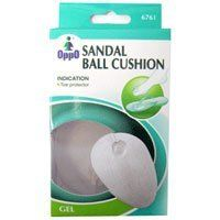 Oppo Sandal Ball Cushion, Model No : 6761 - 1 Pair by Oppo. $7.49. Oppo Sandal ball cushion, model no : 6761 reduces friction between toes.. Indications: Oppo Sandal ball cushion, model no : 6761 reduces friction between toes.