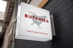 Frameless Projecting Light Box Sign by London Sign Maker's Goodwin & Goodwin. www.GoodwinAndGoodwin.com