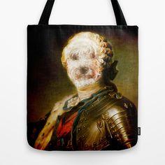 Monsieur Le marquis ! Tote Bag by ganech - $22.00