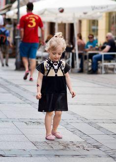 Rockowa sukienka Kokilok-kids #kids #dzieci #child #kidsfashion #kidzfashion #fashionkids #moda #modadziecięca #cute #cutest_kids #cute #baby #babiesfashion #stylishchild #kokilok