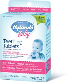Planet Bambini  - Hyland's Baby Teething Tablet (135 tablets), $9.99 (http://www.planetbambini.com/hylands-baby-teething-tablet-135-tablets/)