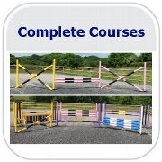 Complete Horse Jumps Course