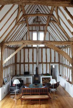David Pocknell's 16th-century East Barn in Essex, England.