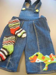 KÄSSÄÄ PALOKASSA: redo jeans