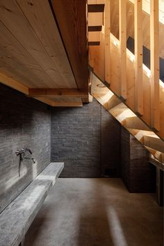Read OOPEAA Office for Peripheral Architecture has completed a new public sauna on the island of Lonna off Helsinki Architecture Romane, Architecture Baroque, Cabinet D Architecture, Architecture Office, Contemporary Architecture, Architecture Design, Helsinki, Traditional Saunas, Zinc Roof