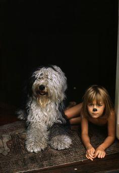 Heather & Martha the Dog by Linda McCartney.