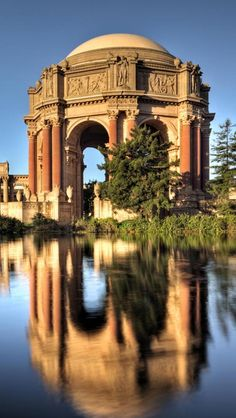 San Francisco - Palace of Fine Arts Theatre. I believe this was from the Worlds Fair.....
