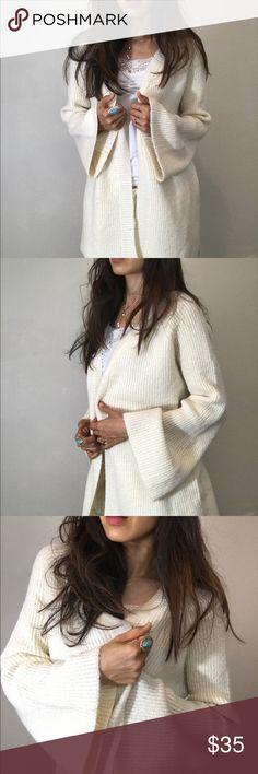 "Brand new soft tofu sweater cardigan Brand new, size L length 30"" Sweaters Cardigans"
