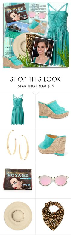 """""""Give Me Pleats"""" by petri5 ❤ liked on Polyvore featuring Christian Dior, Paloma Barceló, Lana, Charlotte Olympia and Leonard"""