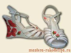 Мастер-класс: Декупаж на обуви
