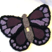 Up for sale is a plastic canvas light switch/switch plate cover features a large two-tone purple butterfly.  This light switch cover is quite large, but still fits a standard single switch plate.  This switch plate cover is 100% handmade by me with all new materials.  You will be getting th...